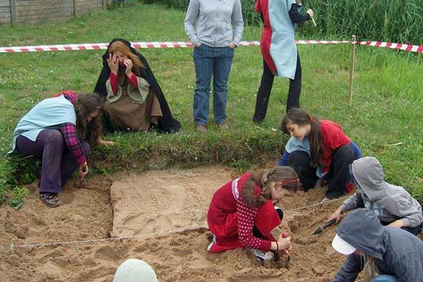 Obóz archeologiczny 1
