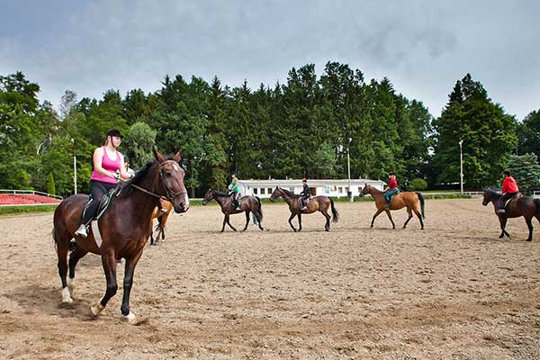 Obóz jazdy konnej