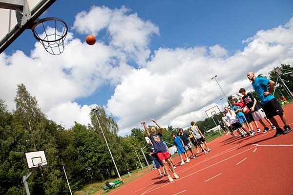 Obóz koszykówki