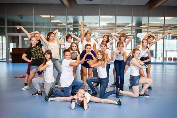 Obóz tańca nowoczesnego